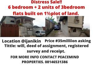 6 bedroom Massionette House for sale Aiyetoro bus stop Ojo Ojo Lagos