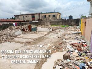 Residential Land for sale Off Jesus Street Ifako-gbagada Gbagada Lagos