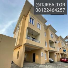 4 bedroom Terraced Duplex House for sale Platinum way, jakande first gate before EROS hotel Jakande Lekki Lagos