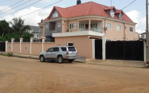4 bedroom Flat / Apartment for sale For sale at AIT Estate Building Containing 2 no's of 4 bedroom flat and 2 no's 3 bedroom flat and 2 bedroom Datached bungalow on land measuring 982,958sqm Title C of O Price #70m Alimosho Lagos