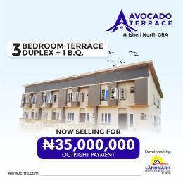 3 bedroom Terraced Duplex House for sale Isheri North Berger Isheri North Ojodu Lagos