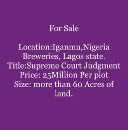Land for sale Orile-Iganmu Surulere Lagos