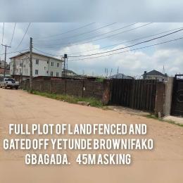 Residential Land for sale Off Yetunde Brown Street Ifako-gbagada Gbagada Lagos