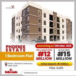 1 bedroom mini flat  Mini flat Flat / Apartment for sale Alasia  Abraham adesanya estate Ajah Lagos