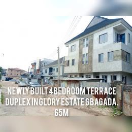 4 bedroom Terraced Duplex for sale Glory Estate Ifako-gbagada Gbagada Lagos