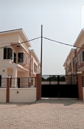 Terraced Duplex House for sale Lafiaji Community Road, Opposite Buena Vista, Orchid Road. chevron Lekki Lagos