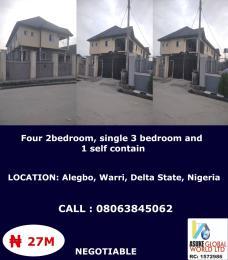 House for sale Alegbo Warri Delta state Uvwie Delta