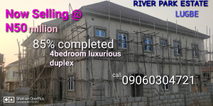 4 bedroom Semi Detached Duplex House for sale River Park Estate, Airport Road Lugbe Abuja