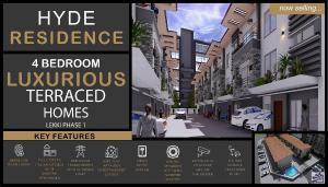 4 bedroom Terraced Duplex House for sale Admiralty  Lekki Phase 1 Lekki Lagos