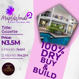 Land for sale Maplewoods 2 Shiriwon Town Ibeju-Lekki  Lagos Nigeria  Free Trade Zone Ibeju-Lekki Lagos