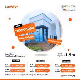 Residential Land Land for sale BOGIJE Lekki Ibeju-Lekki Lagos