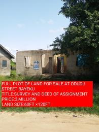 1 bedroom Residential Land for sale Odudu Street Igbogbo Ikorodu Lagos
