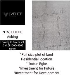 Mixed   Use Land Land for sale Adijatu Oladejo College Egbe/Idimu Lagos
