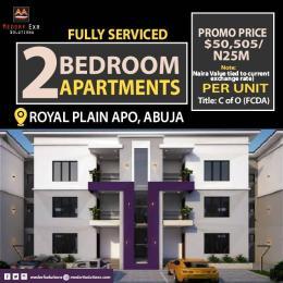 2 bedroom Self Contain Flat / Apartment for sale Royal Plan Apo Abuja