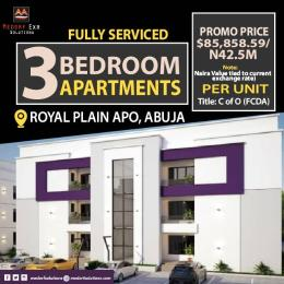 3 bedroom Self Contain Flat / Apartment for sale Royal Plan Apo Abuja