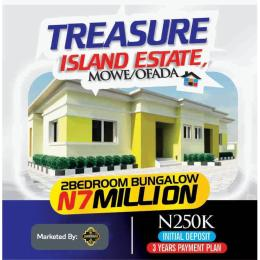 2 bedroom Semi Detached Bungalow House for sale Treasure Island Estate, Mowe Ofada Ofada Obafemi Owode Ogun