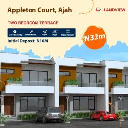 2 bedroom Terraced Duplex House for sale Beside Royal Garden City Estate Ajah Lagos