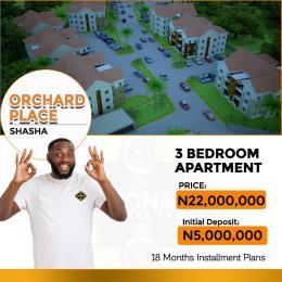 3 bedroom Mini flat Flat / Apartment for sale Orchard Place Shasha Alimosho Lagos