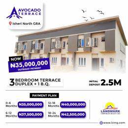 3 bedroom Terraced Duplex for sale Avocado Terraces, Inside Queens Garden Estate Isheri North Ojodu Lagos