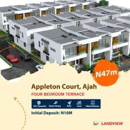 4 bedroom Terraced Duplex House for sale Near Royal Garden City Estate Ajah Lagos