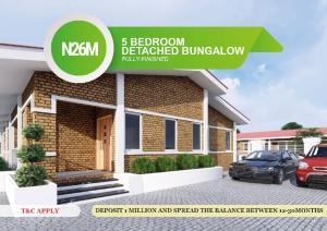 5 bedroom House for sale Behind RCCG New Auditorium, Lagos-Ibadan Expressway  Arepo Ogun