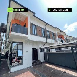 4 bedroom Semi Detached Duplex House for rent Chevron toll gate orchid Lekki Phase 2 Lekki Lagos