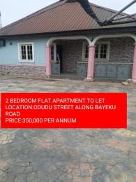 2 bedroom Self Contain Flat / Apartment for rent odudu Igbogbo Ikorodu Lagos