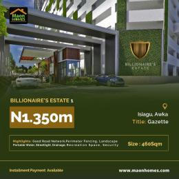 Mixed   Use Land Land for sale Billionaire's estate isiagu Awka Awka South Anambra