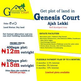 Residential Land Land for sale Along Unity Road. Badore Ajah Lagos
