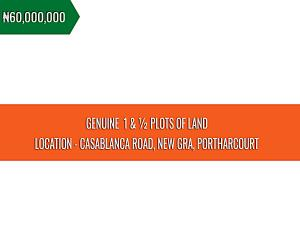 Mixed   Use Land Land for sale Casablanca Road New GRA Port Harcourt Rivers