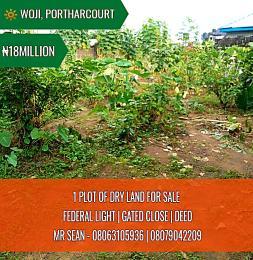 Land for sale Woji Port Harcourt Rivers