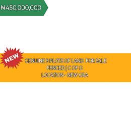 Land for sale New GRA Port Harcourt Rivers