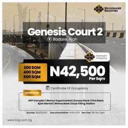 Residential Land for sale Genesis Court Estate Badore Ajah Lagos