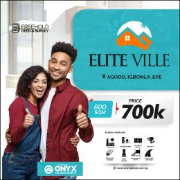 Residential Land Land for sale Elite ville Epe Lagos