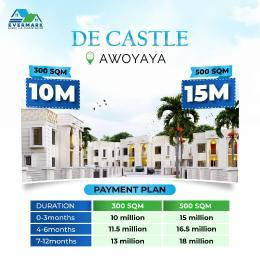 Residential Land for sale De Castle At Oribanwa Bus Stop Awoyaya Ajah Lagos