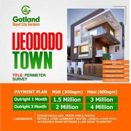 Residential Land Land for sale Royal city gardens estate ijedodo  with registered survey very close to Festac ,Abule ado and trade fair Festac Amuwo Odofin Lagos