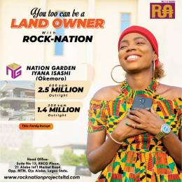 Residential Land Land for sale Nation garden estate isashi with registered Survey very close Lasu gate,iyanoba and Alaba international market  Ojo Ojo Lagos