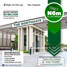 Residential Land Land for sale Northgate Estate Majek Eti Osa Opposite Fara Park With Freehold As A Title Ajah Lagos