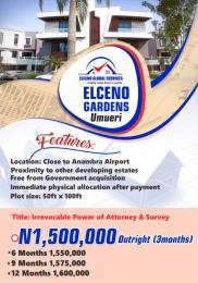 Residential Land Land for sale Elceno garden very close to Anambra international cargo airport Anambra Anambra