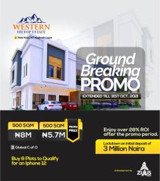 Mixed   Use Land for sale Western Hilltop Estate Alagbado Abule Egba Lagos