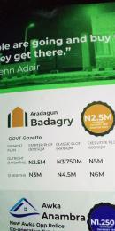 Residential Land Land for sale Near Aradagun Junction Aradagun Badagry Lagos