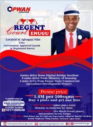 Serviced Residential Land Land for sale Regent court Enugu Enugu Enugu