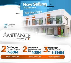 2 bedroom Terraced Duplex House for sale Lbs ajah ,lagos Peninsula Estate Ajah Lagos