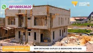 3 bedroom Semi Detached Duplex House for sale Bogije ajah . Ajah Lagos