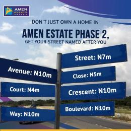 1 bedroom mini flat  Serviced Residential Land Land for sale Amen Estate Development, Eleko Beach Road, Off Lekki Epe expressway, Ibeju-Lekki, Lagos, Nigeria Eleko Ibeju-Lekki Lagos
