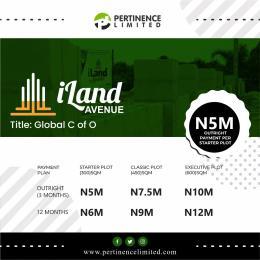Land for rent iLand Avenue Abule Egba Lagos
