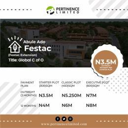 Land for sale Abule Ado Festac (Festac Extension)  Abule Egba Lagos