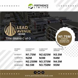 3 bedroom Mixed   Use Land Land for sale Lead Avenue Mowe Badagry Badagry Lagos