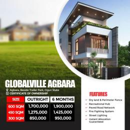 Residential Land Land for sale Globalville Agbara Estate, Beside Trailer Park Agbara Agbara-Igbesa Ogun