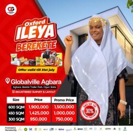 Residential Land Land for sale Agbara, Beside Trailer pack With C of O Agbara Agbara-Igbesa Ogun